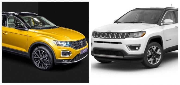 Volkswagen T-Roc Vs Jeep Compass – Price, Engine Details And Features