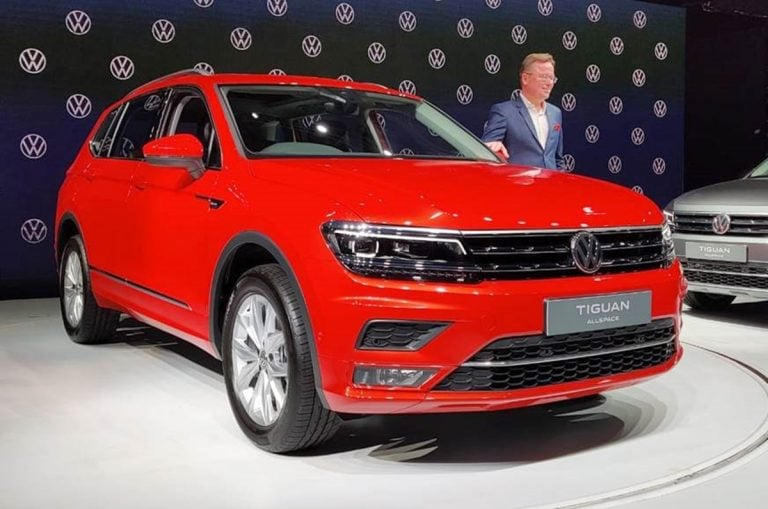 Volkswagen Tiguan AllSpace launched in India for a price of Rs 33.12 lakhs