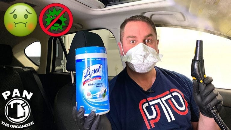 How To Disinfect Your Car From Corona Virus- Video