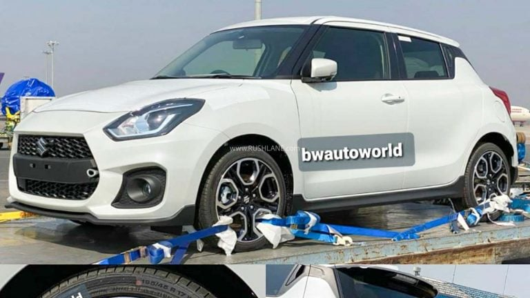 Suzuki Swift Sport Spied In India; A Possible Replacement For Abarth Punto?
