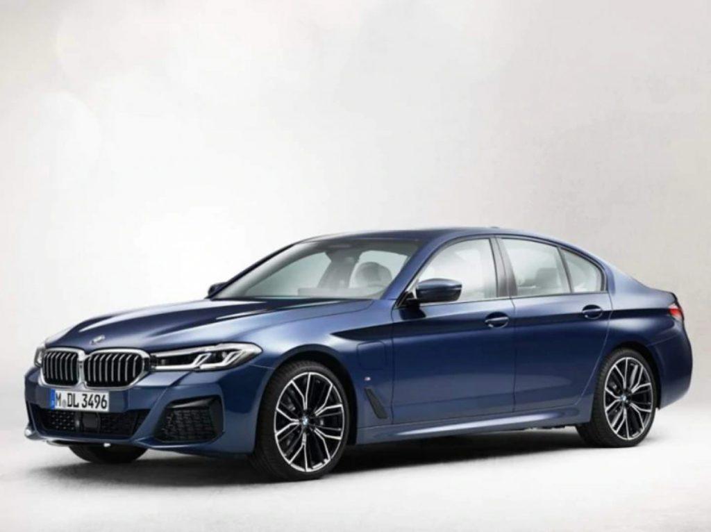 Il s'agit du tout nouveau lifting de la BMW Série 5 qui fera ses débuts à l'international prochainement.