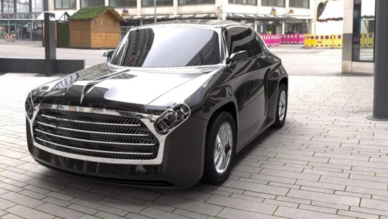 The Iconic Ambassador Reimagined as an Electric Car By DC Design!