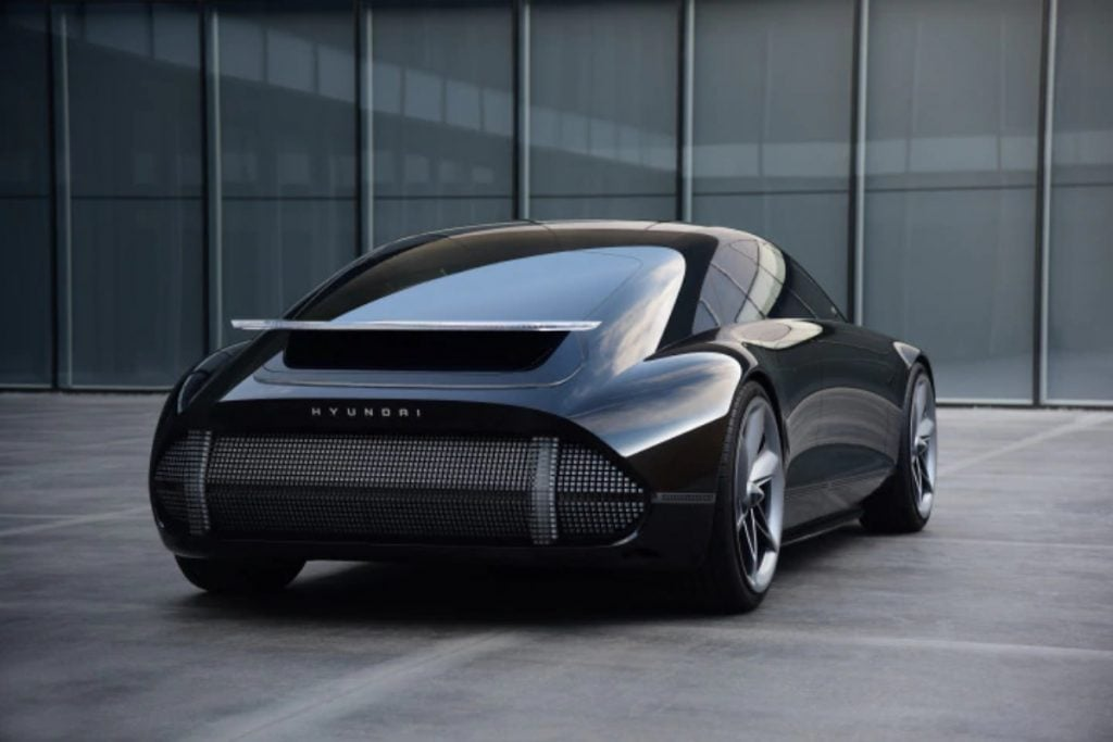 Le Hyundai Prophecy Concept EV ressemble étonnamment à une Porsche 911.