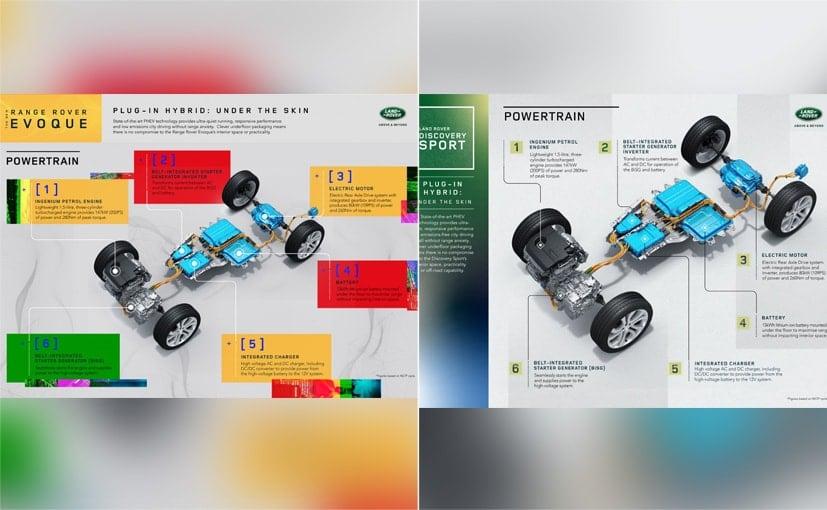 Les deux voitures ont une autonomie électrique de 66 km et une vitesse de pointe de 135 km / h avec une alimentation électrique seule.