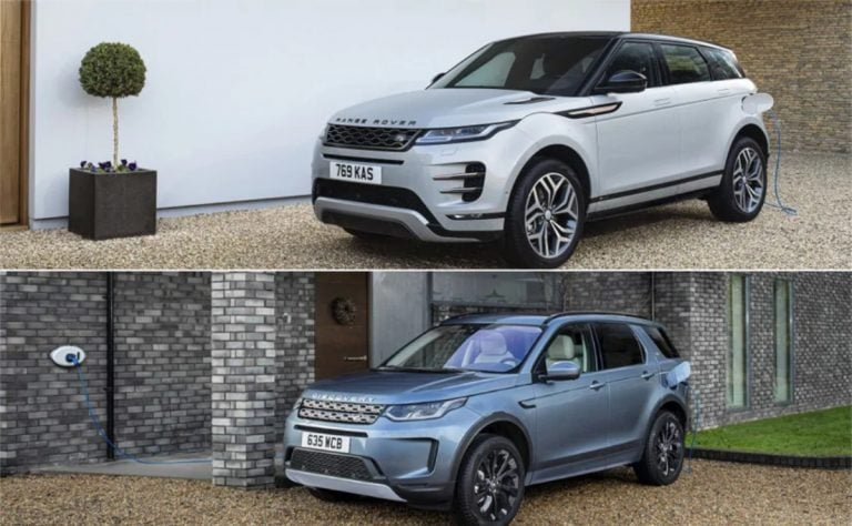 Range Rover Evoque, Land Rover Discovery Sport Plug-in Hybrids Revealed