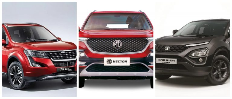 Mahindra XUV500 Is The Cheapest SUV Among MG Hector And Tata Harrier
