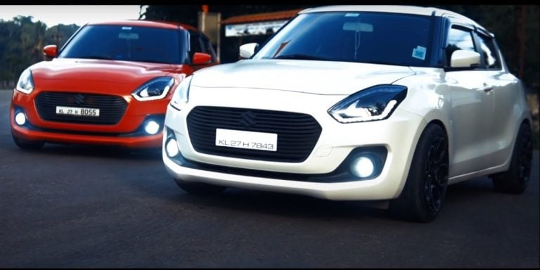 These Modified Maruti Swift Twins Look Like Hot Wheels Collectibles