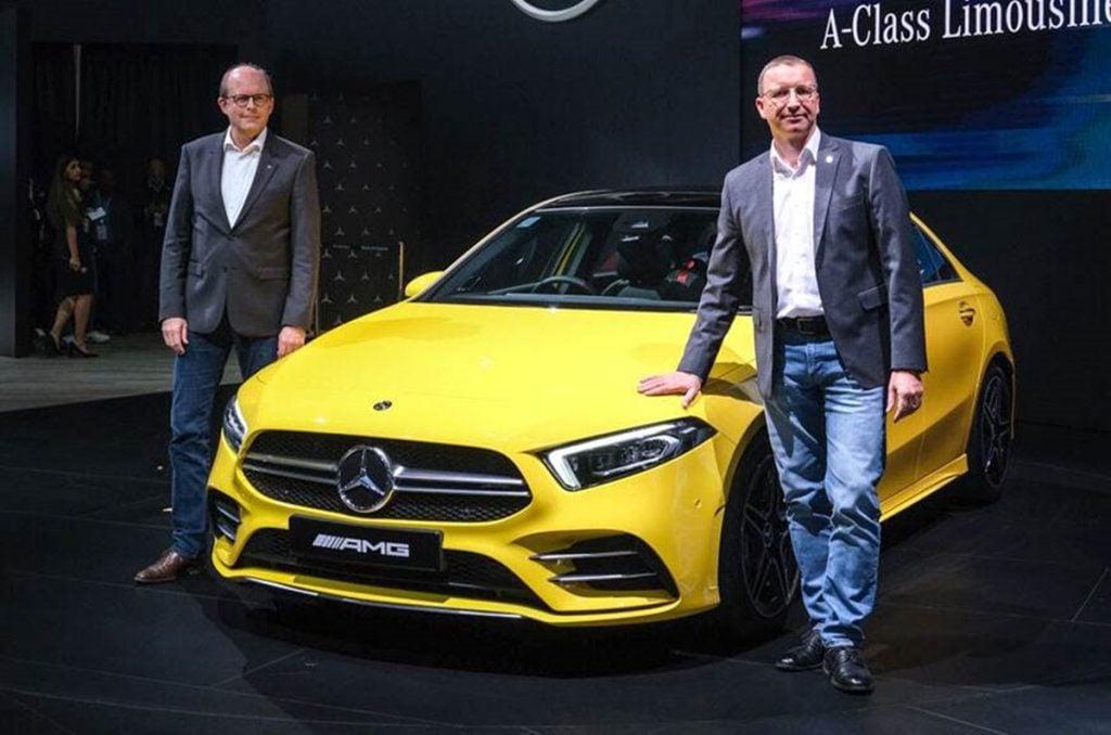 La Mercedes Classe A Sesan sera lancée en Inde en trois variantes - essence, diesel et AMG