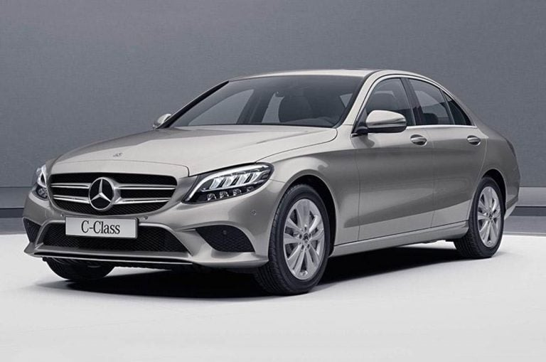 Mercedes Benz Gives The C-Class More Power With A New Petrol Engine