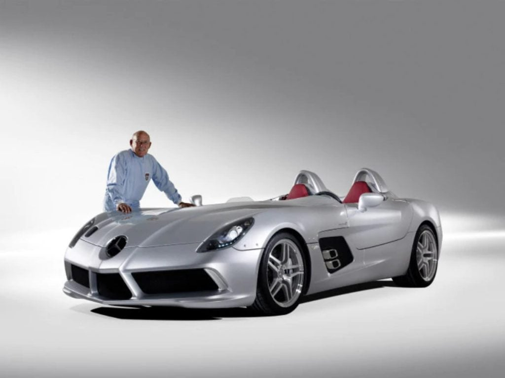 Cette Mercedes-McLaren SLR a été construite en hommage à Stirling Moss