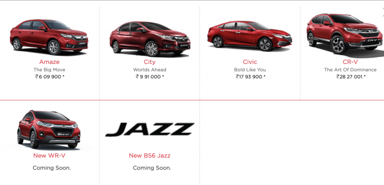 Finally, BS6 Honda Jazz Listed On Website; Launching This Month
