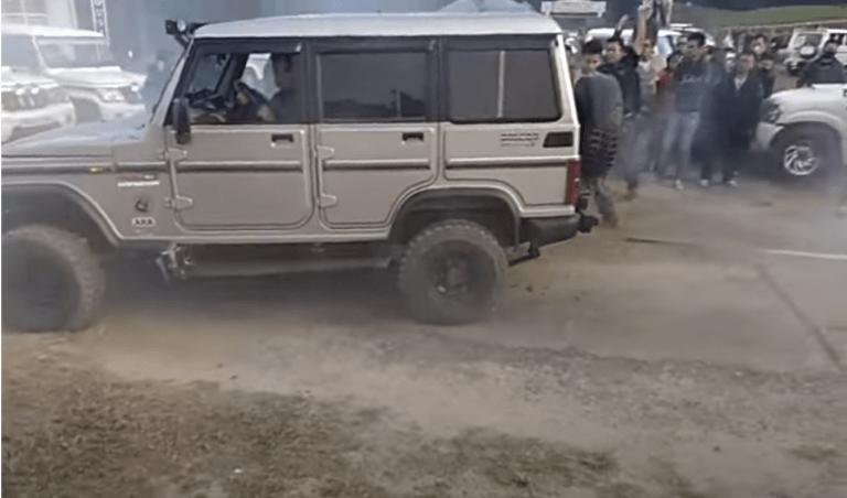 Mahindra Scorpio Vs Bolero Tug Of War Challenge – See Who Wins?