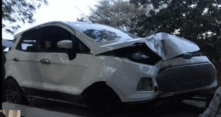 This Ford EcoSport Ran 2 Lakh Kms Even After An Accident Worth 5 Lakhs
