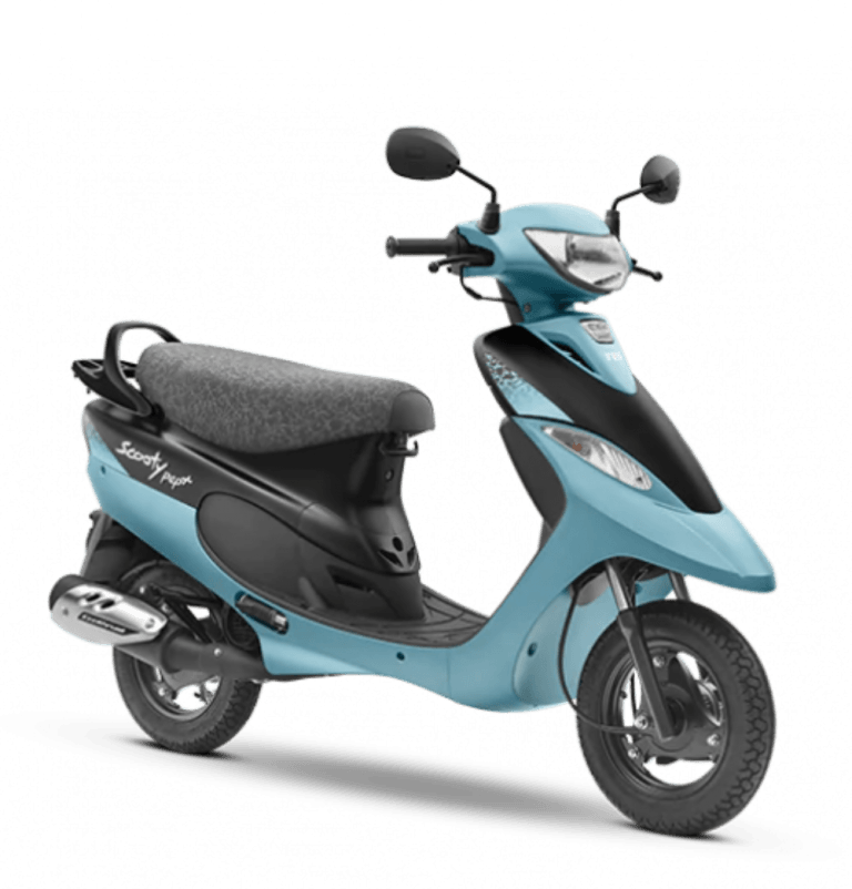 BS6 TVS Scooty Pep Plus is Here For a Price of Just Rs 51,574!
