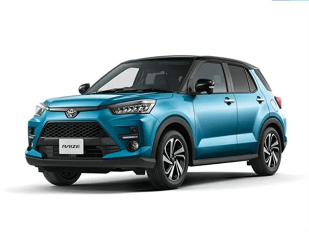 Le SUV Toyota de moins de 4 m sera très probablement appelé Urban Cruiser en Inde (Toyota Raize utilisé à des fins de représentation uniquement).