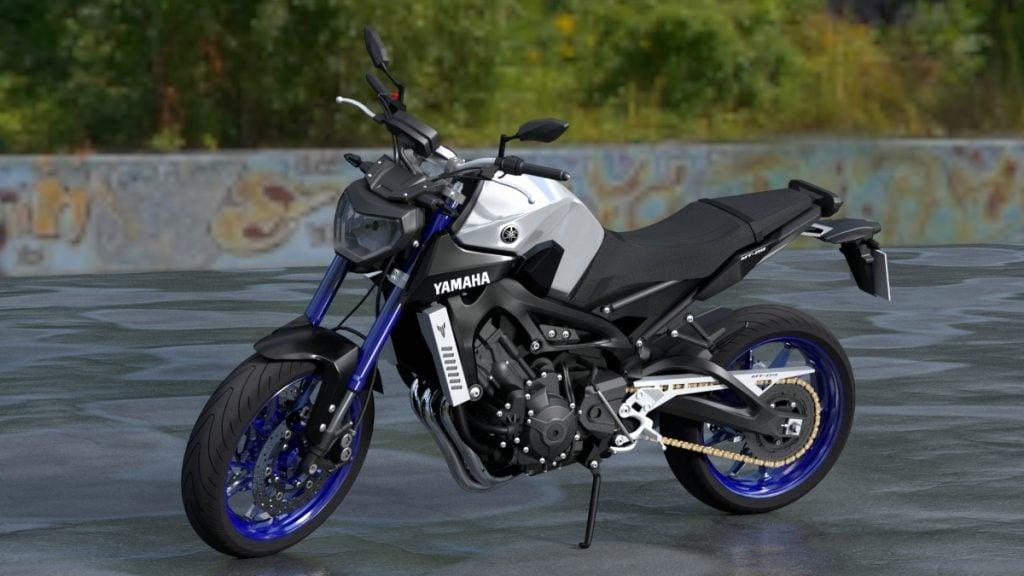 Le Yamaha MT-09 est le seul autre véritable rival de cette liste disponible pour le prix d'un Triumph Street Triple RS 2020