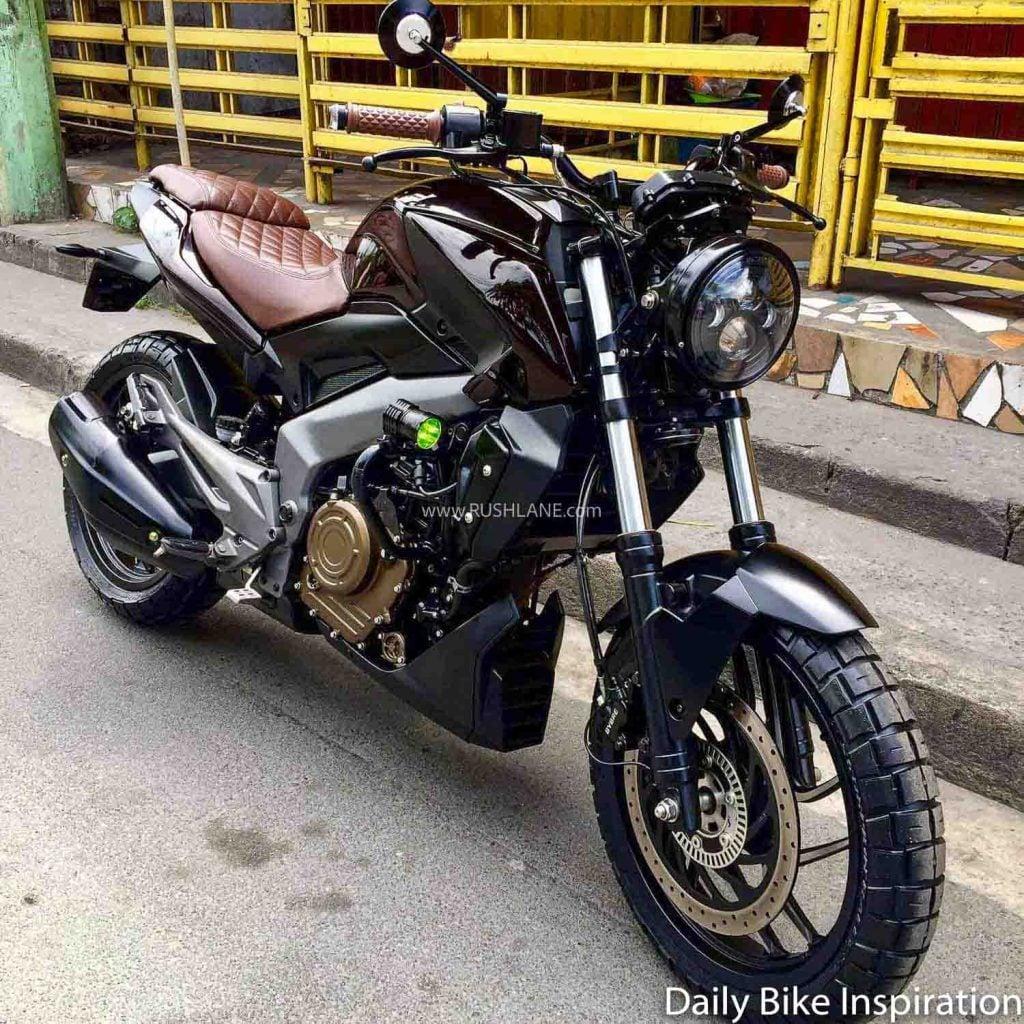 Il n'y a cependant eu aucun changement mécanique sur la moto.