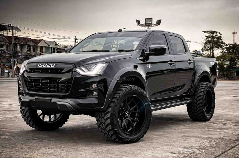 This Modified Isuzu D-Max V-Cross is the Pickup Truck of Your Dreams!