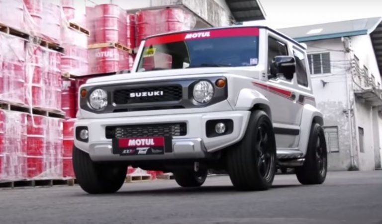This Modified Suzuki Jimny is Perhaps the Fastest Jimny in the World!