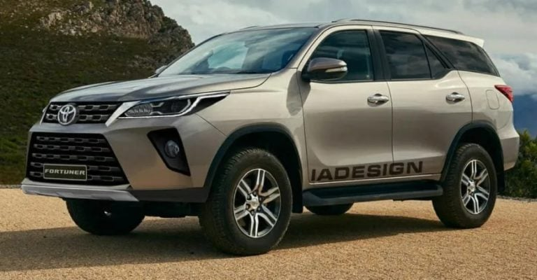 This Rendering Gives You The Best Look at the Upcoming Toyota Fortuner Facelift