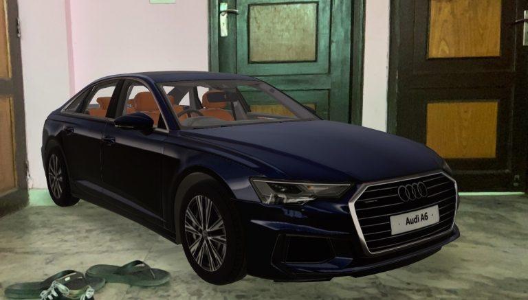 You Can Now Watch A Life-Size Version Of Audi A6 Virtually At Your Home