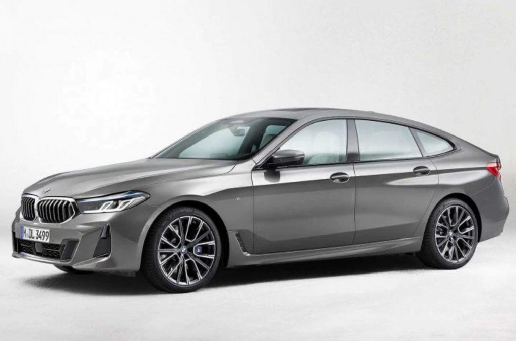 BMW a également mis à jour la Gran Tourismo série 6
