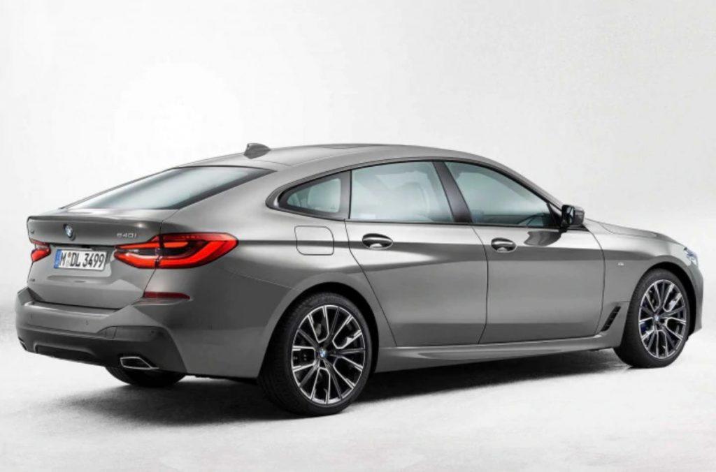 La BMW Série 6 Gran Tourismo bénéficie d'une mise à jour de configuration similaire à celle de la Série 5.