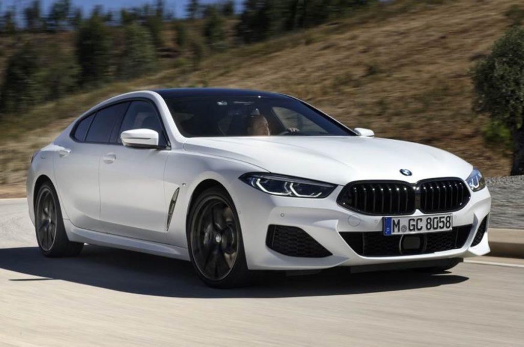 BMW a lancé le phare de la Série 8 Gran Coupé en Inde pour un prix de départ de Rs 1,30 crore.