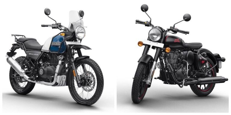 Royal Enfield Increases Price of BS6 Classic 350, Bullet 350 and Himalayan