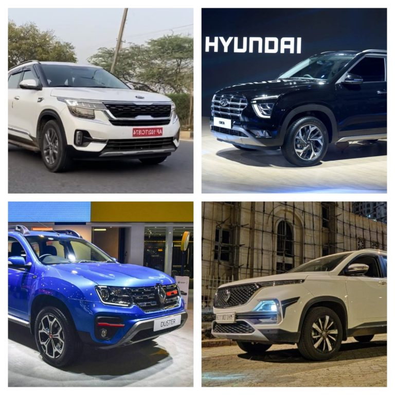 Here Are The Top 5 Most Fuel Efficient Mid-Size SUVs in India!