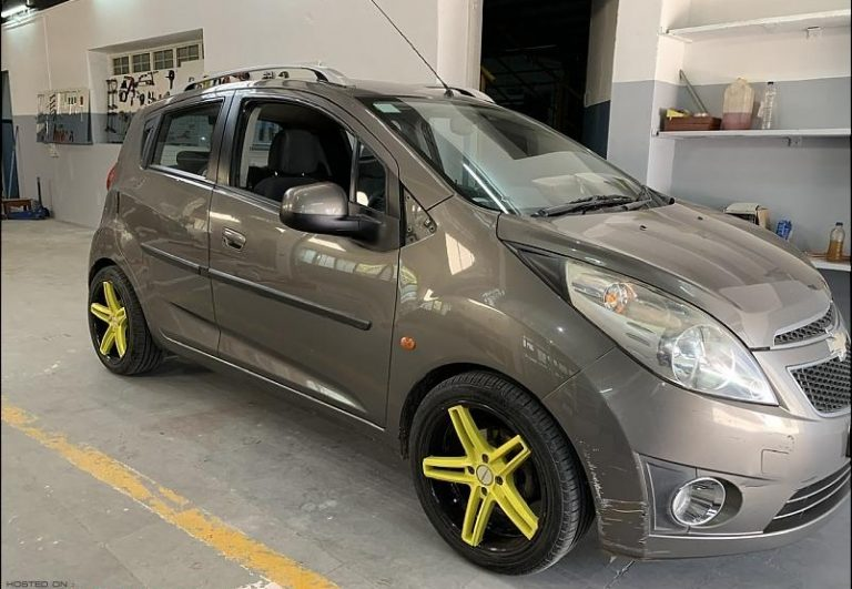 Here's A Chevrolet Beat That Has Been Converted Into An Electric Vehicle