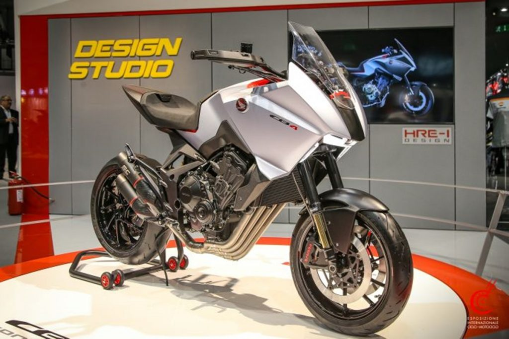 Il s'agit du concept Honda CB4X qui a été présenté à l'EICMA 2019.