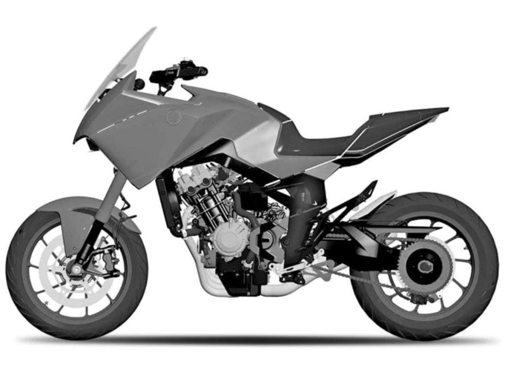 Il sera propulsé par un moteur quatre cylindres en ligne.