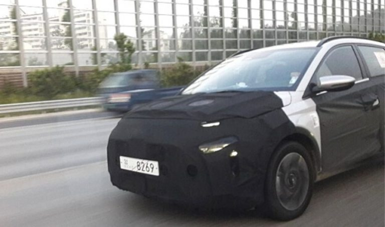 Hyundai MPV (Ertiga Rival) Makes Its First Spy Shot Debut!