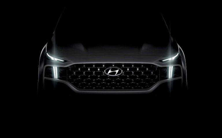The New Hyundai Santa Fe Teaser Really Makes Us Want One in India!