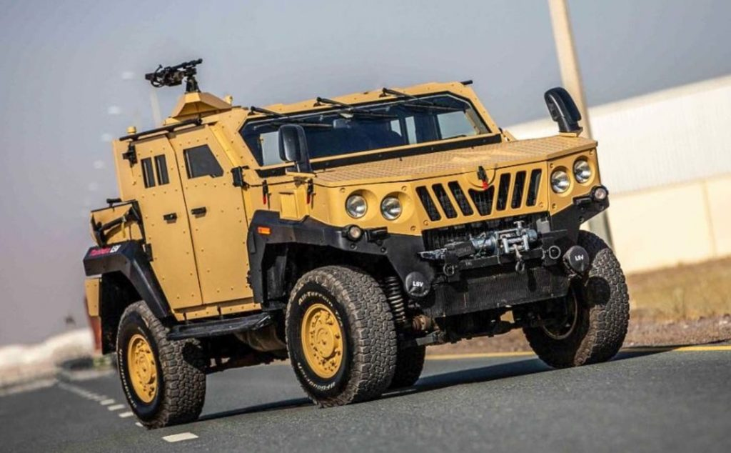 The Mahindra ASLV is exactly the vehicle you need to survive an apocalypse.