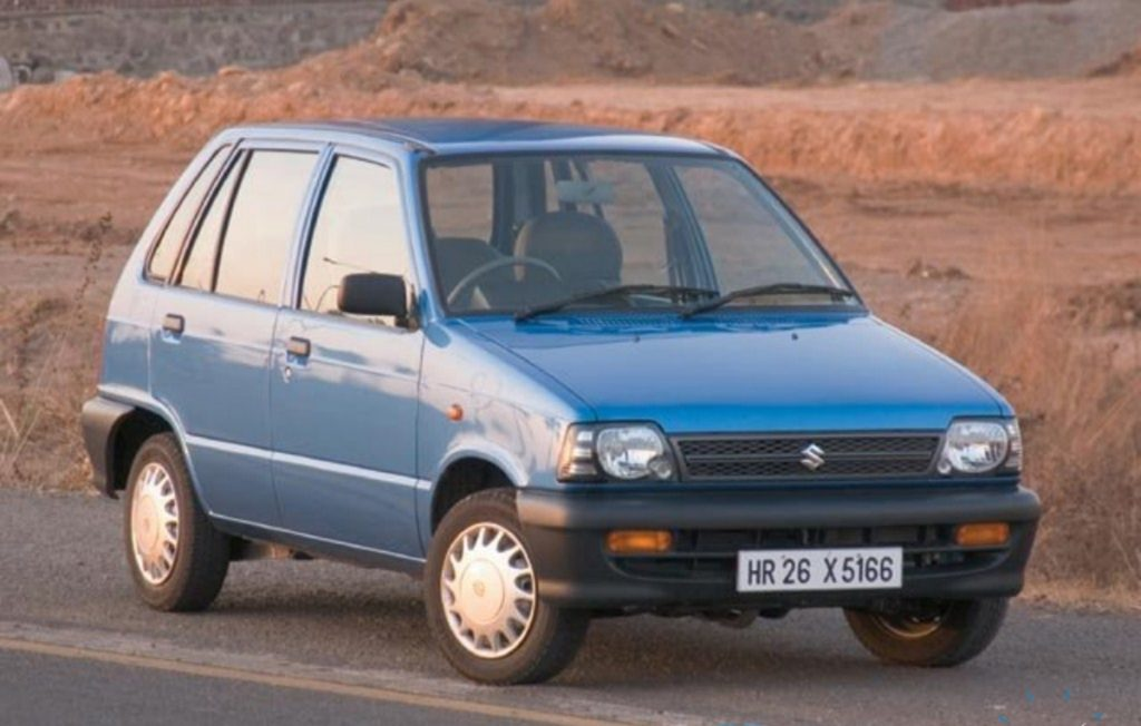 The Maruti Suzuki 800 was one of the first cars to come to the masses.