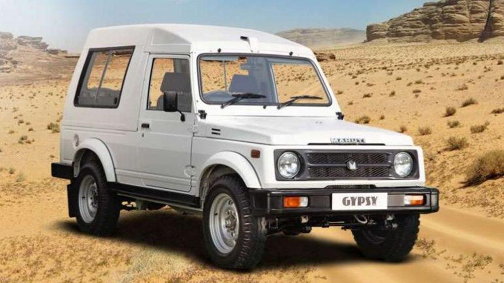 The Maruti Suzuki Gypsy is originally the second-gen Jimny that was sold internationally.