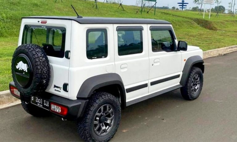 Wondering How a Five-Door Suzuki Jimny in India Will Look Like? Take a Look Here