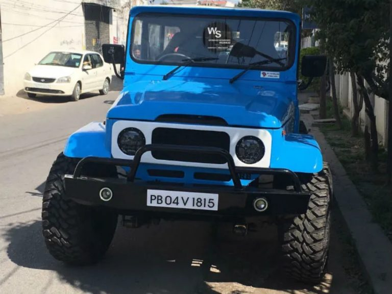 We Bet You Cannot Tell What's Underneath This Modified Toyota FJ Cruiser