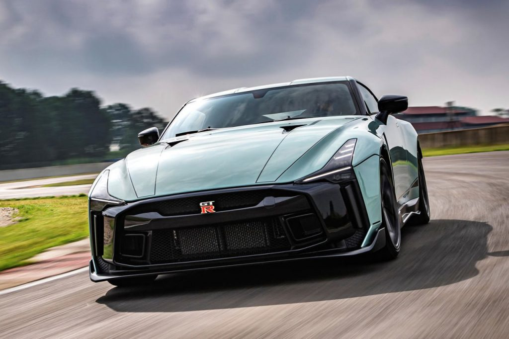 The Nissan GT-R50 by Italdesign has finally been revealed in production-spec form.