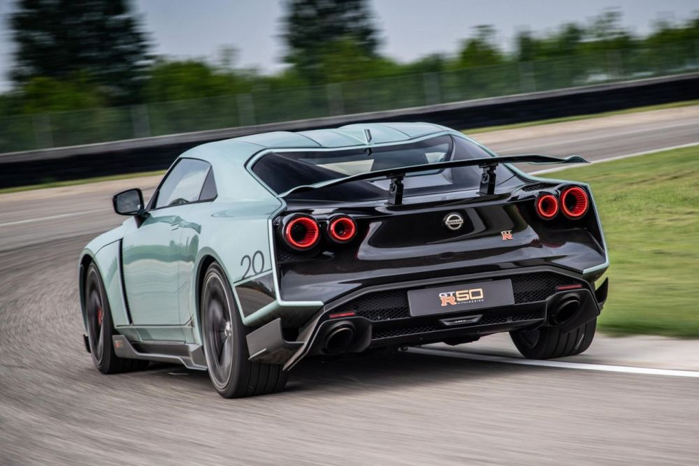 The GT-R50 will just be limited to 50 production units.