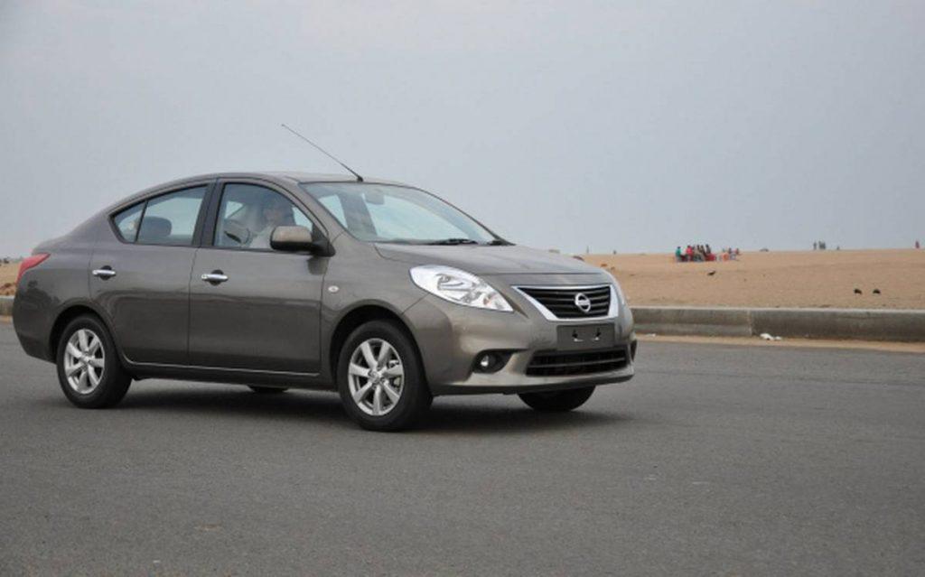 Nissan a également abandonné le Sunny en Inde. Toutes les voitures ont été abandonnées en raison de ventes médiocres.