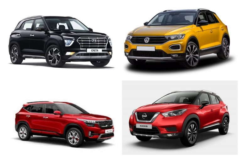 Top 5 Fuel Efficient Petrol Automatic SUVs You Can Buy In 10-20 Lakhs