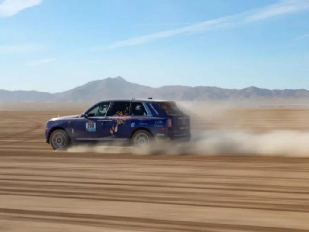 Il s'agit du Rebelle Rally qui se déroule sur les déserts du Nevada et de la Californie aux États-Unis.