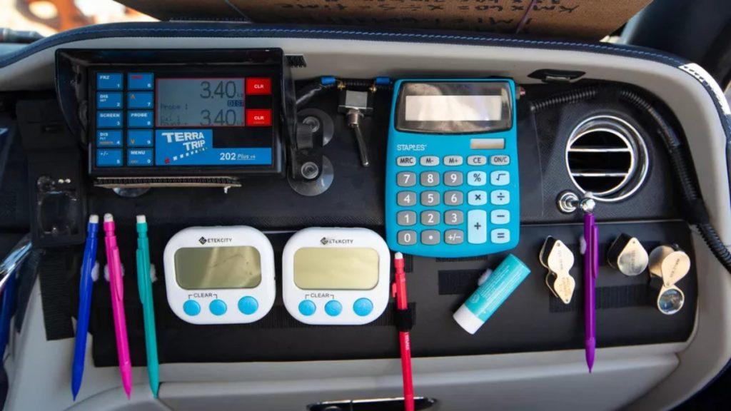 C'est tout l'équipement qu'ils pourraient utiliser pour naviguer dans le désert.