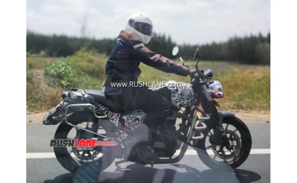 Voici votre meilleur aperçu de la prochaine moto mystère Royal Enfield.