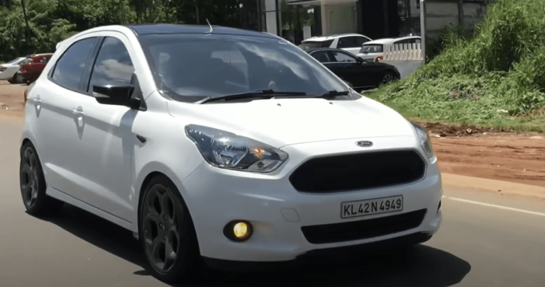 This Modified Ford Figo Borrows Its Alloy Wheels From EcoSport