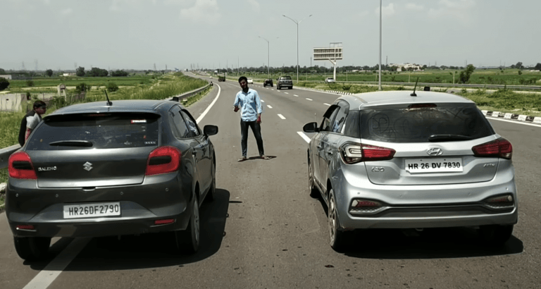 Maruti Baleno Vs Hyundai i20 – See Who Is The Winner In This Drag Race