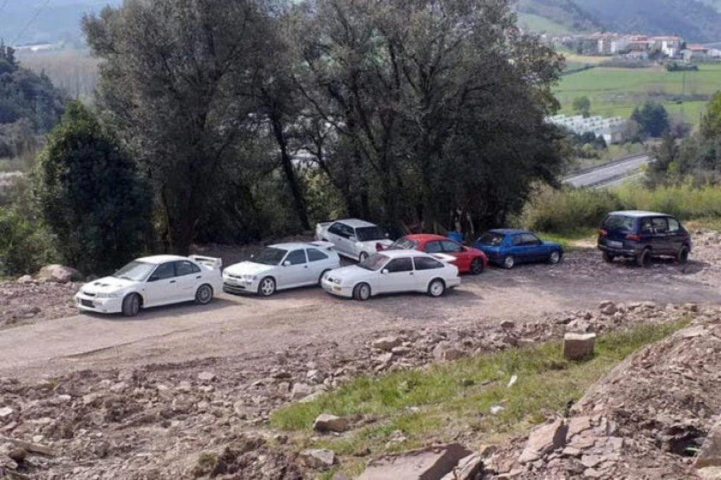 Un type espagnol de 42 ans était en possession de ces 26 voitures de rallye emblématiques.
